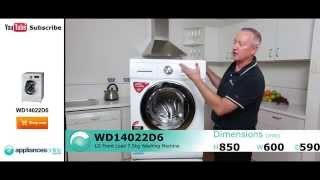WD14022D6 Front Load LG 7.5kg Washing Machine reviewed by expert - Appliances Online