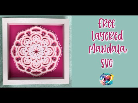 Download LAYERED MANDALA INSTRUCTIONS - FREE SVG - YouTube
