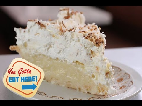 You Gotta Eat the Coconut Cream Pie from Ernie's Coffee Shop