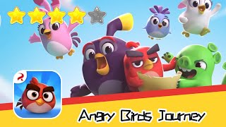 Angry Birds Journey 5-7 Walkthrough Fling Birds, Solve Puzzles Recommend index four stars