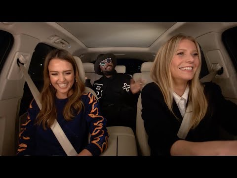 Thumbnail: Apple Music — Carpool Karaoke — Jessica Alba, Gwyneth Paltrow, and will.i.am Preview