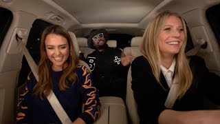Apple Music — Carpool Karaoke — Jessica Alba, Gwyneth Paltrow, And Will.i.am Preview