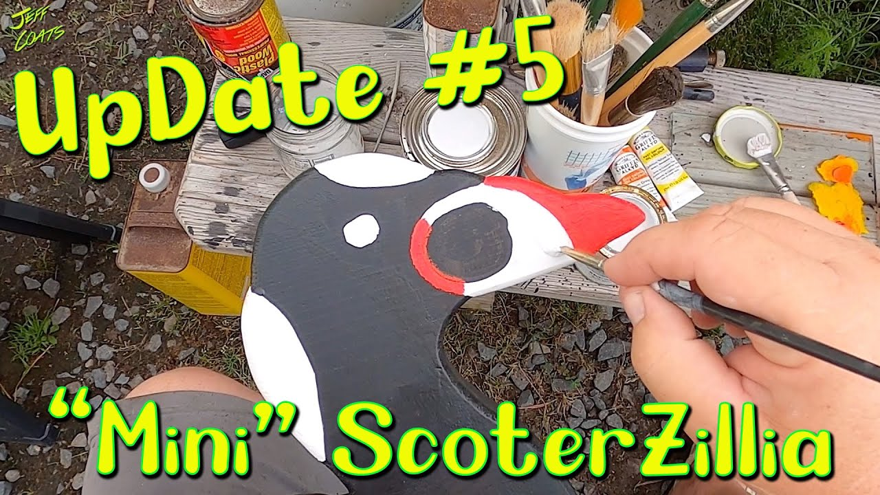 How to make Decoys: ScoterZillias Update 5 - Painting -  Decoys for Seaduck Hunting  - FoamZillias