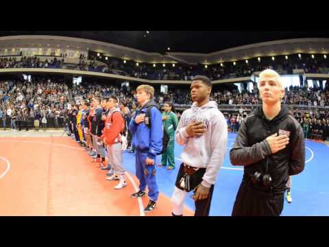 Texas UIL State Wrestling Tournament Parade of Champions 2017