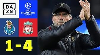 Jürgen Klopp bändigt portugiesische Drachen: FC Porto - FC Liverpool 1:4 | Champions League | DAZN