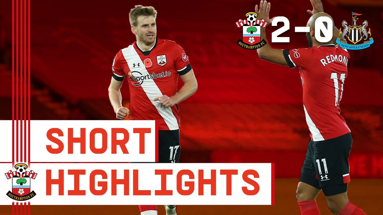 90-SECOND HIGHLIGHTS: Southampton 2-0 Newcastle United | Premier League