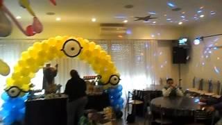 mi villano favorito decoracion en globos por graciela noemi sanabria 707 eventos