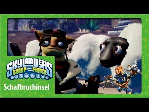 Let´s Play Skylanders Swap Force Sheep Wreck Island Adventure Pack Wind UP