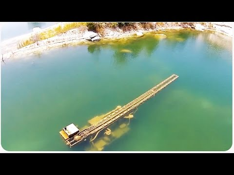 Phantom Drone Flies Over Flooded Quarry | Finds Buried Treasure