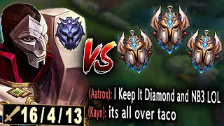 Diamond? Hardstuck? Doesn't matter. Never underestimate a Jhin main.