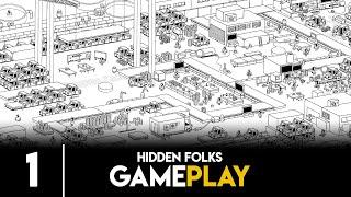 Hidden Folks - Primeros minutos de juego [Gameplay no commentary]