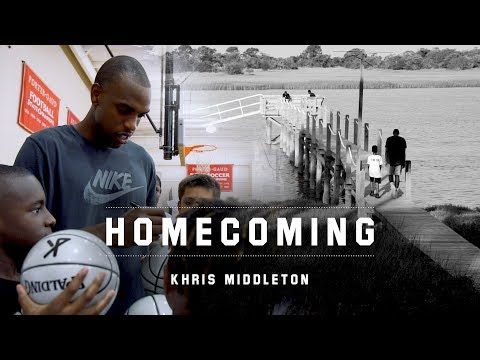 Khris Middleton: Family, Basketball and Waffle House