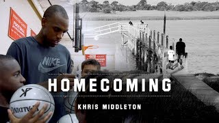 Khris Middleton Goes Home for Family, Basketball and Waffle House
