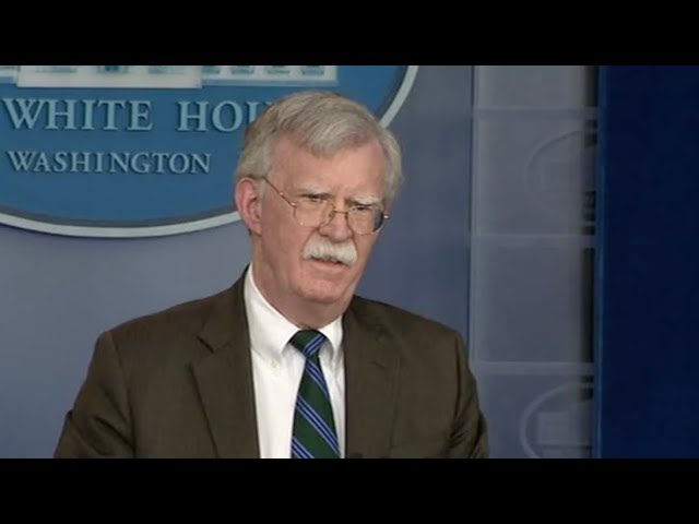 Trump 'fires' hard line advisor John Bolton over foreign policy rifts