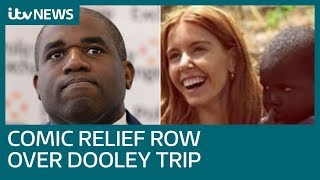 David Lammy 'snubbed' Comic Relief, it emerges, after Stacey Dooley trip row   ITV News