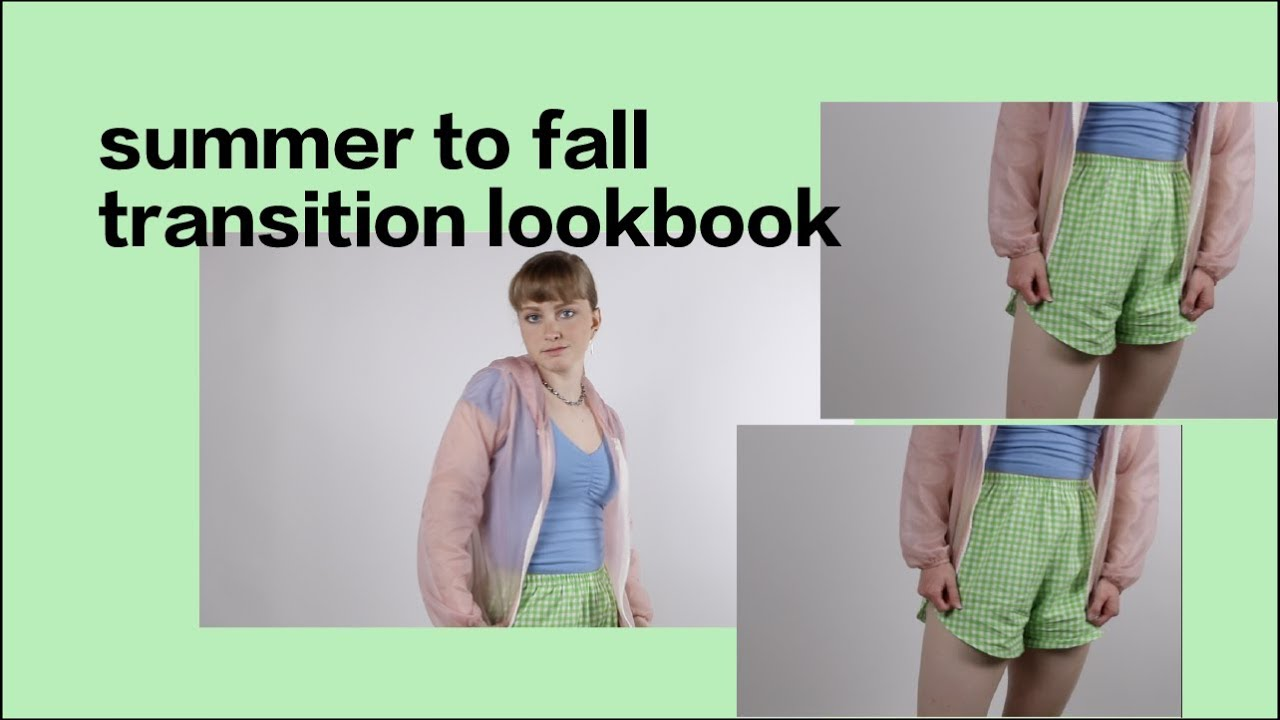 summer to fall lookbook 5