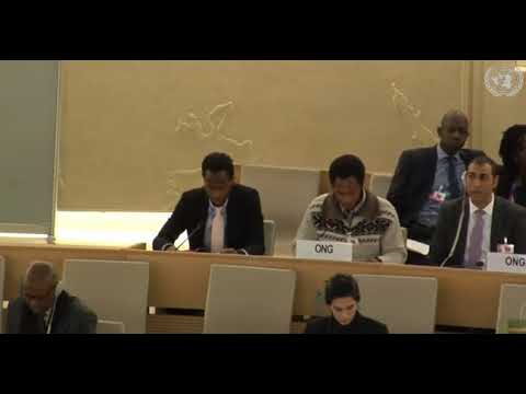 37th Session Human Rights Council - ID with Commission on South Sudan - Mr. Mutua K. Kobia