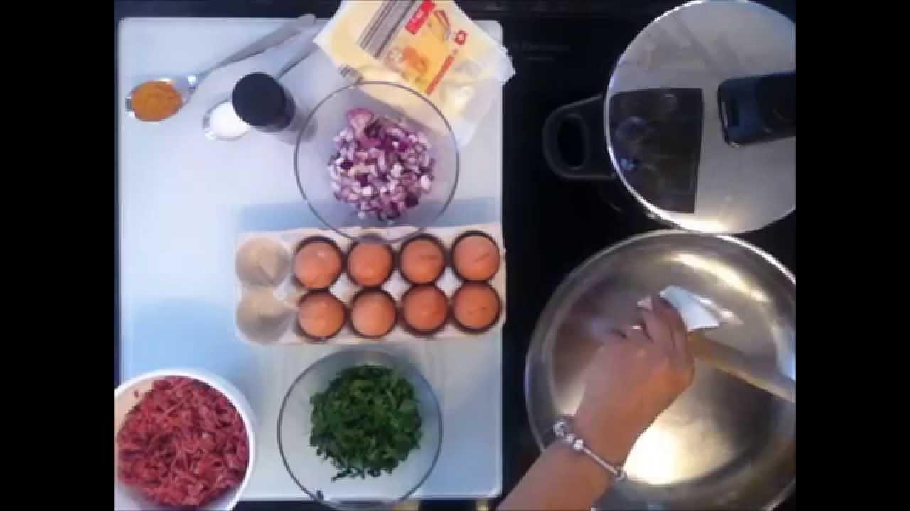 Tunesische Küche   Am Besten Rezept Hackfleisch Kartoffel Tajine Tunesische Kuche