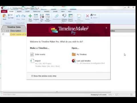 timeline maker pro v4 5 tour youtube