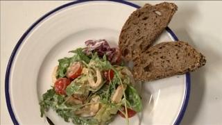 Салат с пастромой из индейки, шашлык из индейки, суп с клецками из индейки | Детское меню