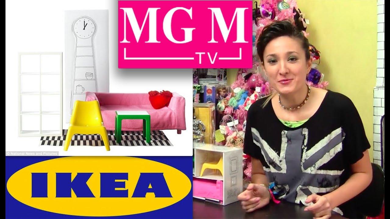 Обзор на мебель для кукол IKEA - YouTube