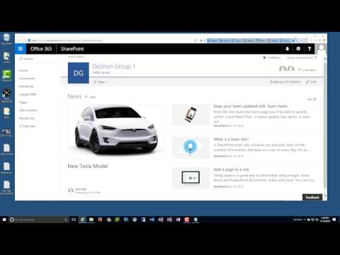 Season 1 Ep1: Modern Team Sites and Site Pages - Office 365 Migration from SharePoint 2013