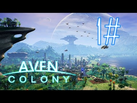 Aven Colony | Mission 1 - Vanaar | Part 1 | Winter Just came! | Let's play - Gameplay