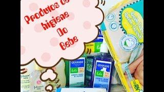 produtos de higiene do bebe 0a3 meses comprinhas do miguel p 1