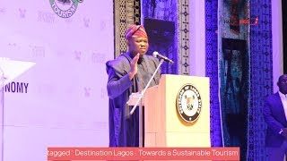 Gov. Akinwunmi Ambode enjoins Nigerians to promote  Heritage & Culture @ Tourism Summit 2018