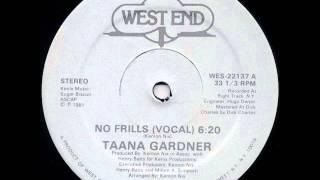 Taana Gardner -  No Frills 1981