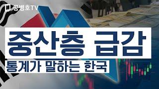 중산층 급감 / 통계가 말하는 한국 [공병호TV]