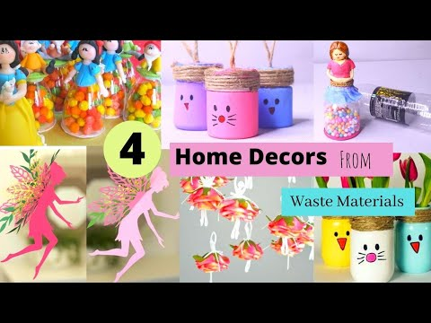 4-diy-home-decor-from-materials-/-easy-room-decor-crafts