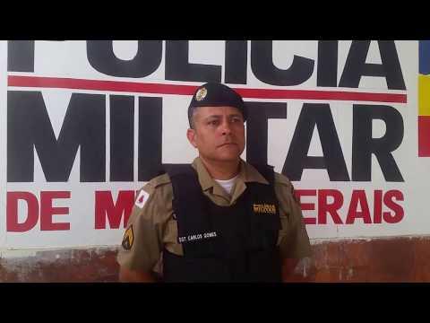 vídeo Polícia Militar de Poté MG alerta população