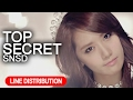 Girls' Generation 소녀시대 'Top Secret' Line Distribution