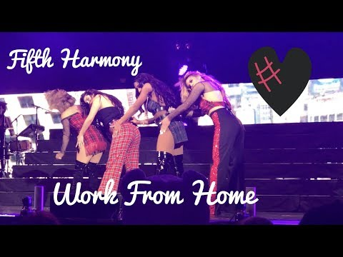 Fifth Harmony  Work From Home  @ Jingle Bash 2017