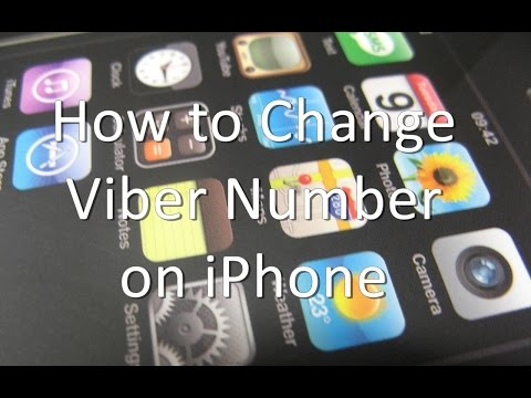 How to Change Viber Number on iPhone and iPad