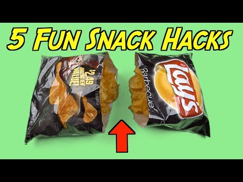 5 Clever Snack Hacks You Can Do Right Now - FOOD LIFE HACKS FOR EVERYONE