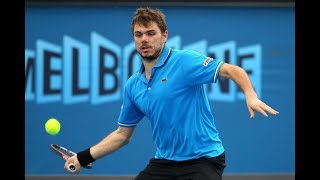 Stan Wawrinka ● Amazing Forehands in Grand Slam | HD