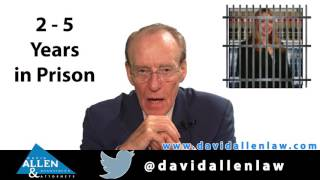 David Allen Legal Tuesday: The Consequences of Practicing Law without a License