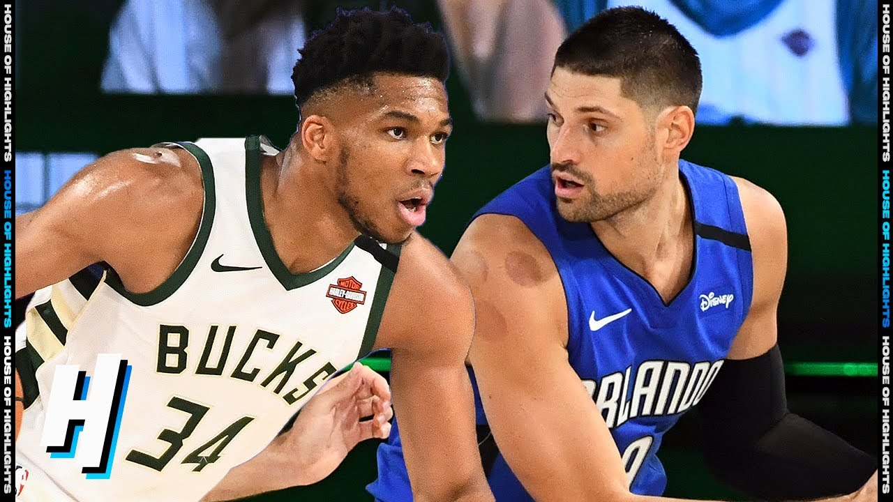 Orlando Magic vs Milwaukee Bucks - Full Game 1 Highlights | August 18, 2020 NBA Playoffs