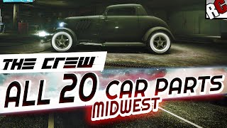 The Crew - All Hidden Car Part Locations MIDWEST - Achievement/Trophy Guide - Hot Rod Scrap Salvager(The Crew - All Hidden Car Parts Locations MIDWEST - Achievement/Trophy Guide - Hot Rod Scrap Salvager (Müllsammler Erfolg/Trophäe) - Build a Hidden Car ..., 2014-12-03T03:51:06.000Z)
