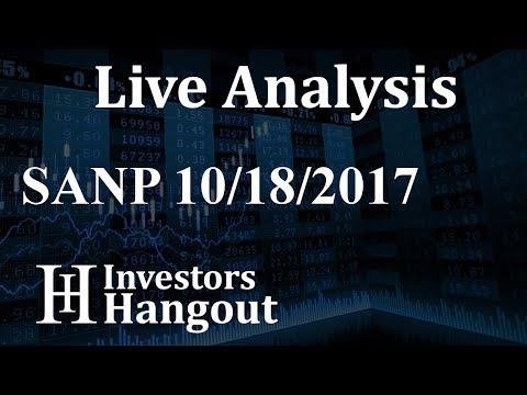 SANP Stock Live Analysis 10-18-2017