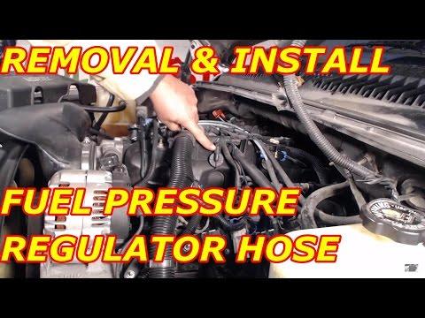 Fuel Pressure Regulator Vacuum Hose Replacement - YouTube