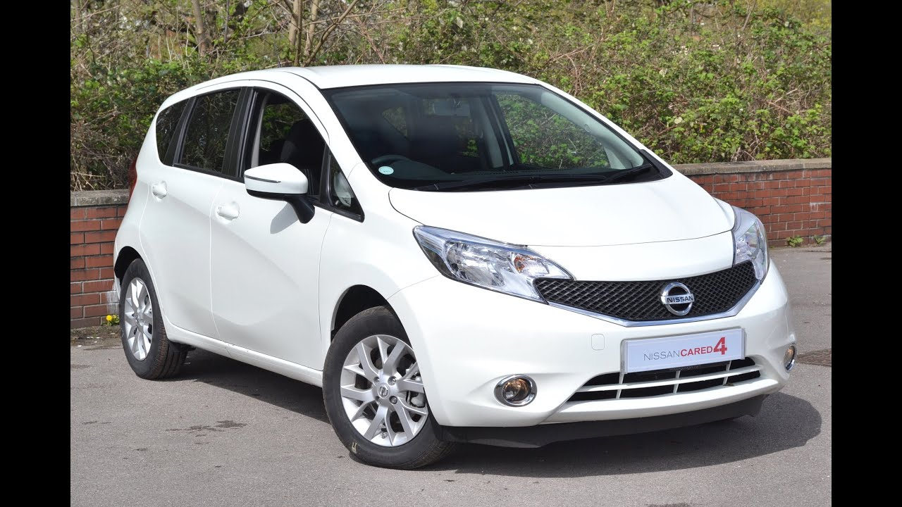 pre reg nissan note acenta in arctic white at wessex. Black Bedroom Furniture Sets. Home Design Ideas