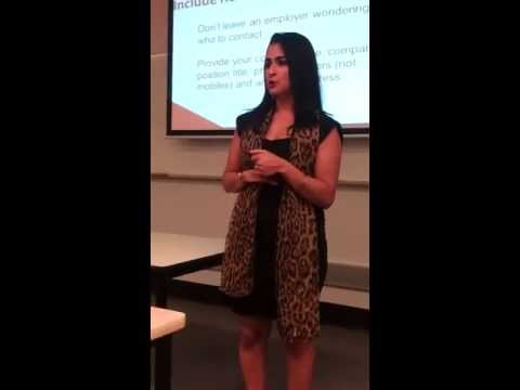 Exceptional Tuition and Resumes - Resume Writing for Success - Monique Jeremiah Part 1