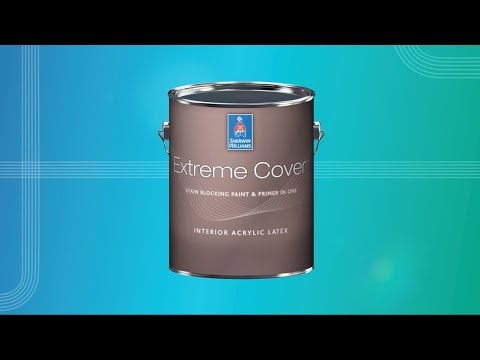 Extreme Cover Stain Blocking Paint and Primer in One - Sherwin-Williams
