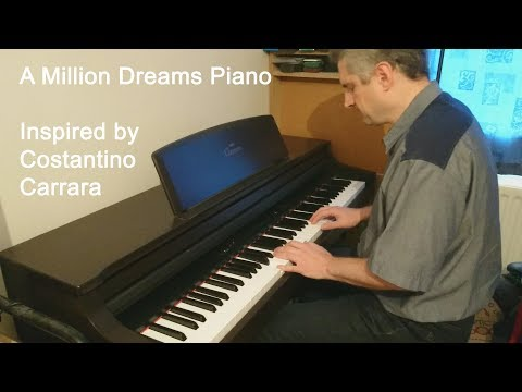 A Million Dreams The Greatest Showman Piano Cover
