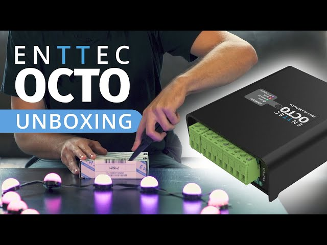 Unboxing the NEW ENTTEC OCTO!