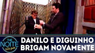 Monólogo: Danilo e Diguinho brigam novamente | The Noite (20/09/18)