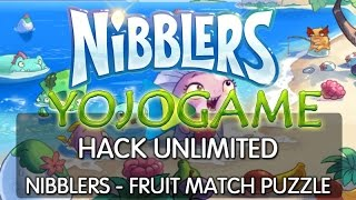 hack unlimited game nibblers fruit match puzzle 2016 no download